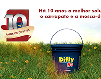 Campanha 10 anos de Difly S3