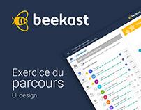 [Design d'interface] - Proposition parcours Beekast