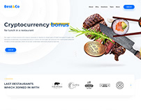 Cryptocurrency restaurant marketplace Best&Co