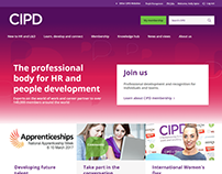 CIPD website redesign