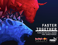 Red Bull + Puma Illustration
