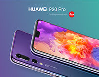 Huawei P20 Pro Website Redesign