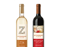Buttonwood 'Z' Wine Label
