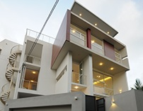 Jeeva & Channa Horombuwa House - Architects' Own House