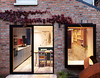 Almington Street House by Amos Goldreich Architecture