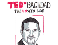 TEDxBaghdad 2015 Sketchnotes - SPEAKERS