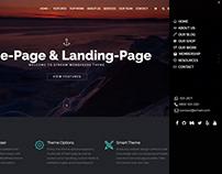 Stream WordPress Theme - Home Side Menu