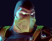Scorpion - Mortal Kombat Animated Series