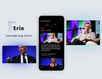 Erie - News app
