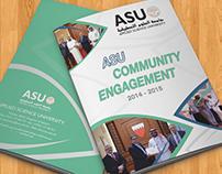 Booklet ASU COMMUNITY ENGAGEMENT