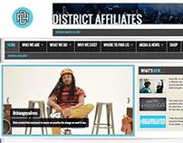 Social Club Website Graphics