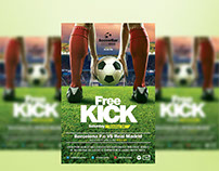 Free Kick Flyer Template