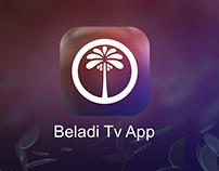 Beladi tv App design