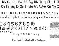 Bergatron Typeface