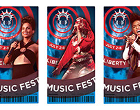 Liberty Island Music Festival Logo & Tickets