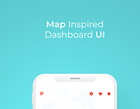 Dashboard Interaction Design Concept - Automobile App