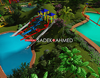 3D LANDSCAPE | CREATED by SADE AHMED