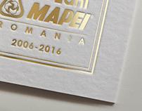 10 year anniversary logo design