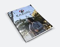 criação de conceito // catálogo de moda KAZUAL