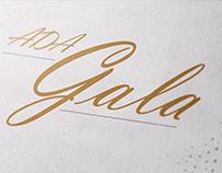 ADA Gala Branding