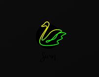 One-line birds