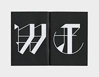 Vitae Typeface + Booklet
