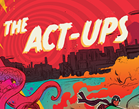 The Act-Ups - Something to Forget ~ Record Artwork