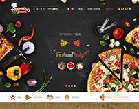 Website development for pizzerias Pepperino