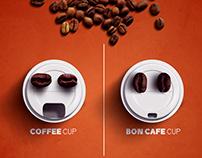 Bon Cafe campaign social media