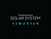 The True Scale Of The Solar System (Infographic)