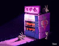 Vending Carrot Machine