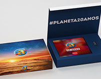 Planeta Atlântida 2016. Packaging Design