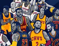NBA ECF Champ Push Animation