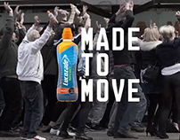 Lucozade: Made to Move