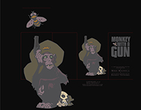 Monkey With A Gun Packaging Design