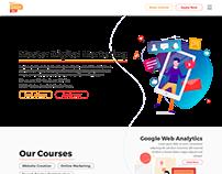 Digital Academy Website Concept