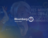 Bloomberg HT Mobil App Design