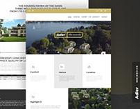 Landing Page Design - Adler Residences