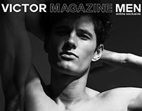 The simplicity of Kipras for VICTOR magazine men online