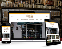 Old Town Spice & Tea Merchants | Website Design
