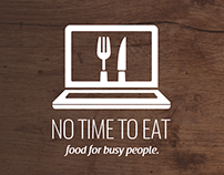 NO TIME TO EAT Logo