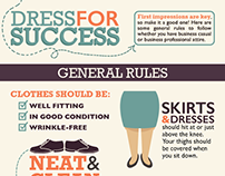 Dress for Success Infographic