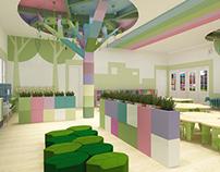 Kindergarten interior design- Graduation Project