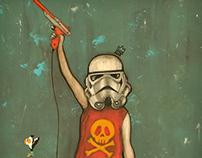 Star Wars Duck Hunt Girl 2