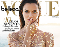 VOGUE Mexico Beauty Cover // April 2016