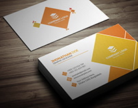 Corporate Unique Business Card Design.