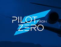 Pilot From Zero - Brand identity