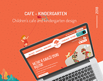 Cafe & Kindergarten Website Design