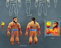 2D & 3D |Character design for mobile game.