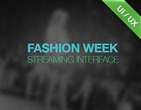 Fashion Week 2012 / streaming page